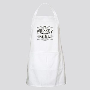 Vintage Whiskey Girl BBQ Apron