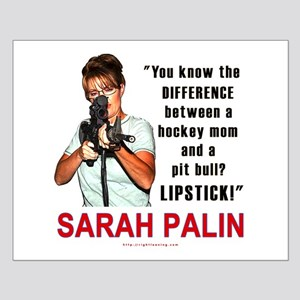 Sarah Palin - The Difference Small Poster