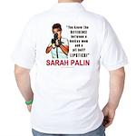 Sarah Palin - The Difference Golf Shirt