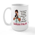 Sarah Palin - The Difference Large Mug