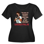 Sarah Palin - The Difference Women's Plus Size Sco