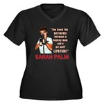 Sarah Palin - The Difference Women's Plus Size V-N