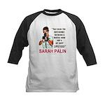 Sarah Palin - The Difference Kids Baseball Jersey