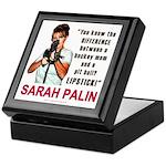 Sarah Palin - The Difference Keepsake Box