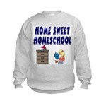 Home Sweet Homeschool Kids Sweatshirt