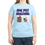 Home Sweet Homeschool Women's Light T-Shirt