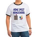 Home Sweet Homeschool Ringer T