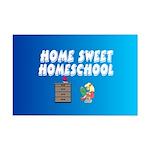 Home Sweet Homeschool Mini Poster Print