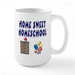 Home Sweet Homeschool Large Mug
