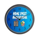 Home Sweet Homeschool Wall Clock
