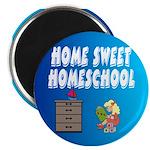 "Home Sweet Homeschool 2.25"" Magnet (10 pack)"
