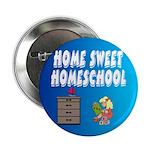 """Home Sweet Homeschool 2.25"""" Button (100 pack)"""