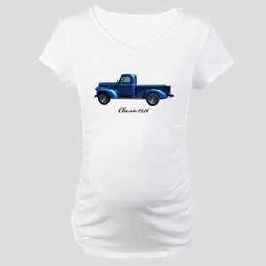 1946 Vintage Pickup Truck Maternity T-Shirt