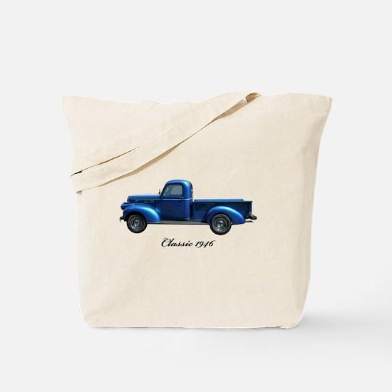 1946 Vintage Pickup Truck Tote Bag