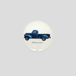 1946 Vintage Pickup Truck Mini Button