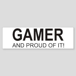 The Proud Gamer Bumper Sticker