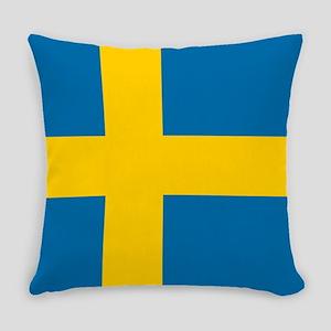 Flag: Sweden Everyday Pillow
