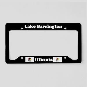 Lake Barrington, IL License Plate Holder