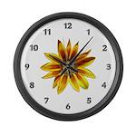 Yellow Daisy Large Wall Clock
