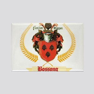 German Bossong Coat of Arms Rectangle Magnet