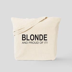 The Proud Blonde Tote Bag