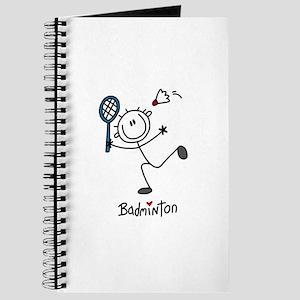 Stick Figure Badminton Journal