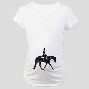 Hunter Floral Maternity T-Shirt