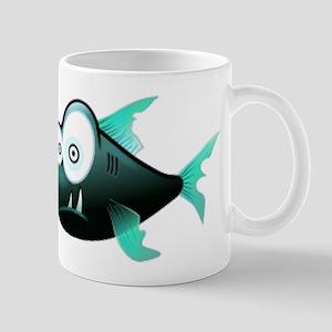 Scary Piranha Mugs