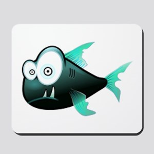 Scary Piranha Mousepad