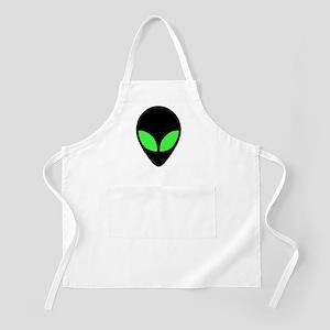 Alien Head Design 3 BBQ Apron