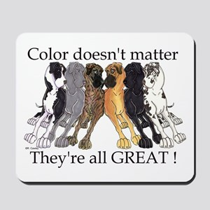 N6 Color Doesn't Matter Mousepad
