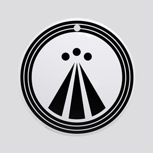 Druid Symbol Ornament (Round)
