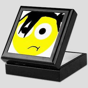 emo smiley Keepsake Box