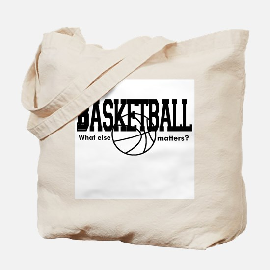Basketball, What else matters Tote Bag