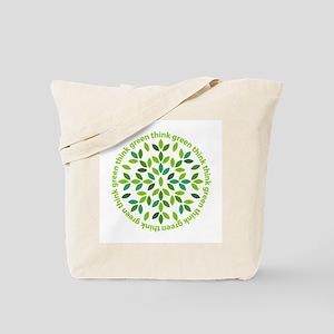 Think Green Tote Bag