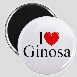 """""""I Love (Heart) Ginosa"""" Magnet"""