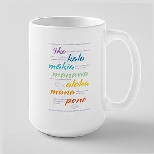 Hawaiian Huna Large Mug