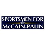 Sportsmen for McCain Bumper Sticker