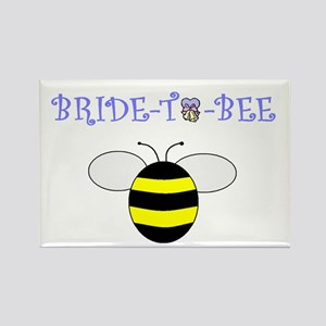 BRIDE-TO-BEE Rectangle Magnet