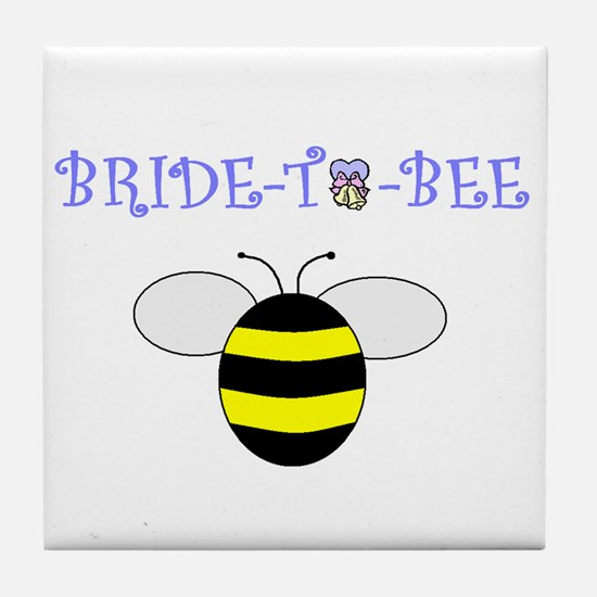 BRIDE-TO-BEE Tile Coaster