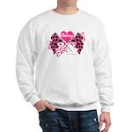 Pink Racing Flags Sweatshirt