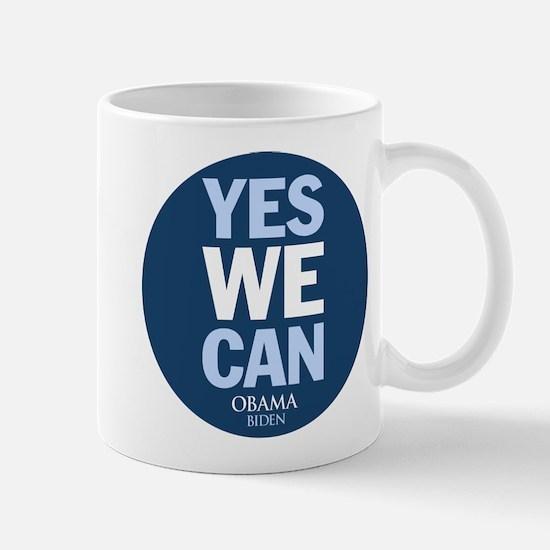 Yes We Can Blue Mug