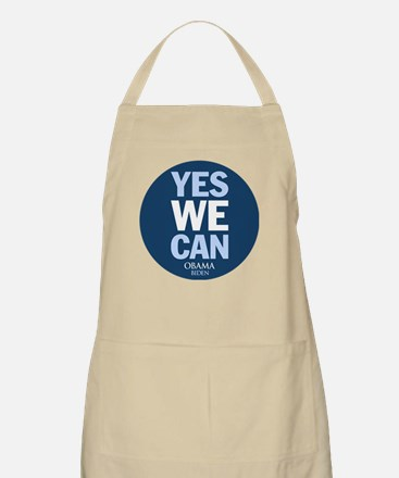 Yes We Can Blue BBQ Apron