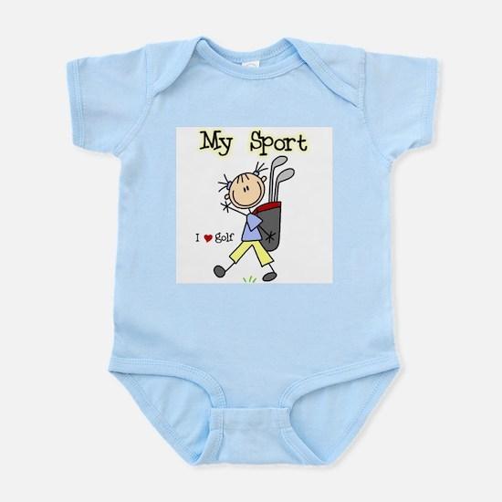 Golf My Sport Infant Bodysuit