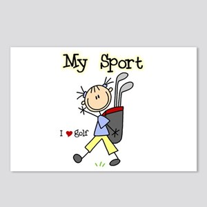 Golf My Sport Postcards (Package of 8)