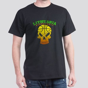 Lithuania Basketball Dark T-Shirt