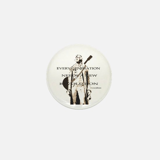 Thomas Jefferson Revolution Mini Button