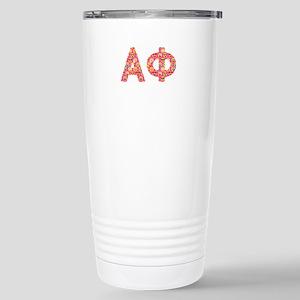 Alpha Phi Emoji 16 oz Stainless Steel Travel Mug