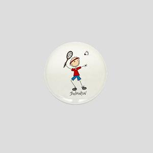 Badminton Mini Button