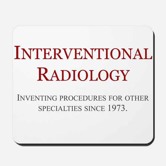 Interventional Radiology Mousepad